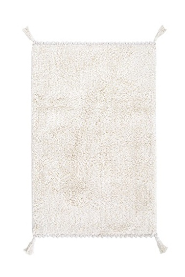 İrya Pamuk Banyo Paspası Angel 70*110 Beyaz